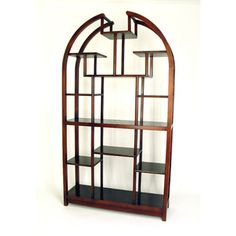 Wayborn 40cm Etagere Display Unit Room Divider Shelves Shelving Armoire