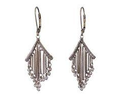 Dana Kellin | Chain Fringe Earrings in Designers Dana Kellin Earrings at TWISTonline
