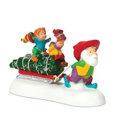 """Department 56: Products - """"Bringing Home The Tree"""" - View Accessories"""