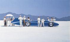 Jack Vettriano - Bluebird at Bonneville