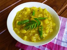 Bhaji - fragrant, mouthwatering potato curry.