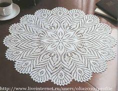 khăn bàn tròn