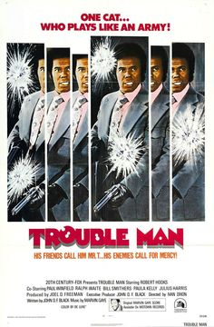 """Robert Hooks in """"Trouble Man"""" (1972) Directed by Ivan Dixon and Music Composed and Performed by Marvin Gaye"""