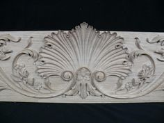 Fireplace Mantel Carved out of White Oak