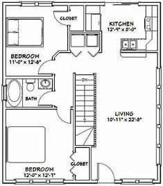 PDF house plans, garage plans, shed plans. Cabin House Plans, Cabin Floor Plans, Small House Plans, Build House, Garage Apartment Plans, Garage Plans, Shed Plans, Garage Apartments, Shed Homes