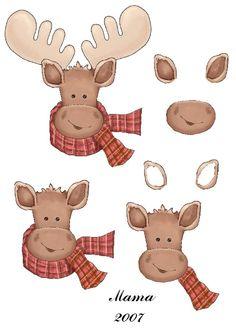 Christmas Sheets, 3d Christmas, Christmas Cards To Make, Christmas Clipart, Christmas Pictures, Xmas Cards, Christmas Decoupage, Printable Cards, Printables