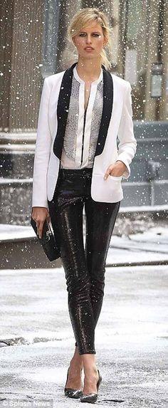 Tuxedo style Holiday
