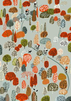Illustration by Eliza Southwood another printmaker at my studio. I bought a proof of this print i love it