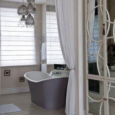 Mirrors on housekeeper's cupboard in b.room?