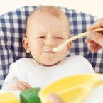 Great refresher article on baby food - avoid home-prepared spinach, beets, green beans, squash, and carrots during early infancy as they may contain large amounts of nitrates.