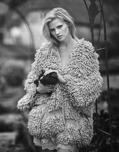 The World of Lara Publication: The Edit December 2016 Model: Lara Stone Photographer: Boo George Fashion Editor: Cathy Kasterine Hair: Martin Cullen Make Up: Florrie White