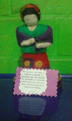 Sonrisa Maravillosa: Frida Kahlo en vellón