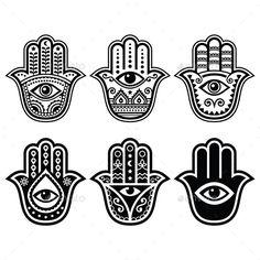 Hamsa, Hand of Fatima - symbol of strength and happiness isolated on white. Free art print of Hamsa hand, Hand of Fatima. Hamsa Hand Tattoo, Hand Tattoos, Tatoos, Small Hamsa Tattoo, Script Tattoos, Flower Tattoos, Hamsa Tattoo Design, Hamsa Art, Hamsa Design