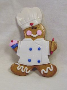 Gingerbread baker ornament by GingerbreadFaire