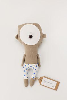 Sleeping teddy bear made for Sapnu Namai. Find more accesories and baby bedding www.sapnunamai.lt