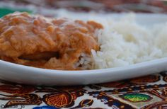 poulet sauce arachide Food To Make, Grains, Food And Drink, Rice, Tasty, Baking, Recipes, Sauces, African Food Recipes