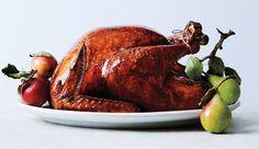 Glazed and Lacquered Roast Turkey
