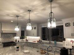 THE DIMMER TIPS FOR SMALL KITCHEN CHANDELIER Lantern Pendant Lighting, Farmhouse Pendant Lighting, Kitchen Chandelier, Kitchen Pendant Lighting, Kitchen Sink Decor, Farmhouse Sink Kitchen, Kitchen Island, Kitchen Design, Kitchen Ideas