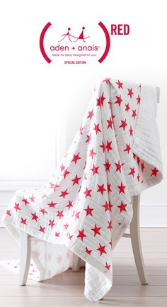 The purchase of our (RED) daydream blanket can provide 25 days of lifesaving medicine to mothers and babies in need.