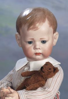 """Theriault's Antique Doll Auctions - 15"""" K*R 115 """"Phillip"""", ca. 1915"""