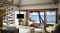 Vivanta by Taj - Coral Reef: Superior Charm Beach Villas are 624 square feet and feature an outdoor shower and sea views.
