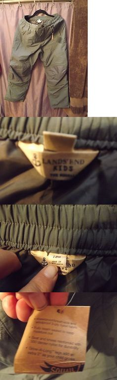 Snow Pants and Bibs 36261: Lands End Boys 18 Husky Squall Snow Pants Brand New Never Worn -> BUY IT NOW ONLY: $30 on eBay!