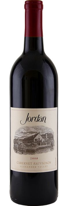 Jordan Cabernet Sauvignon 2008 the BEST WINE EVER!