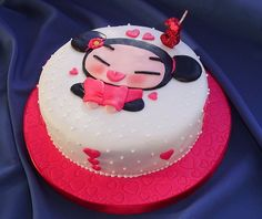 Pucca Cake — Childrens Birthday Cakes
