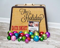 Lots of creative ideas to turn your normal movie night into a fun, romantic date night. All centered around the movie The Holiday. www.TheDatingDivas.com #dateidea #christmasdate #christmas