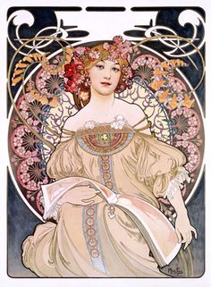 Google Image Result for http://c20thdesign.files.wordpress.com/2011/05/art-deco-lady-by-alphonse-mucha.jpg