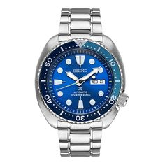 Seiko Turtle Prospex Men's Dive Watch Blue Lagoon SRPB11 Limited Edition