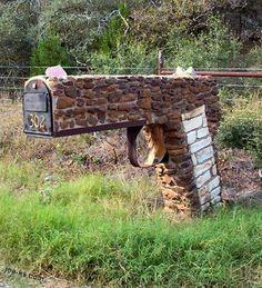 brick pistol mailbox