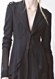 modelsandstuff:  +Noir Yohji Yamamoto SS14