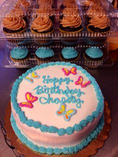 Birthday cake I made. Check out my Facebook page. Jazzy cake creations! Contact me to order.