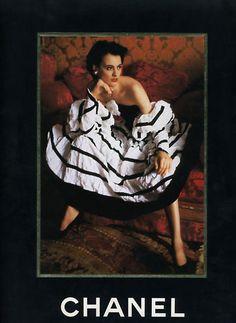 Chanel fw 1986 by Arthur Elgort