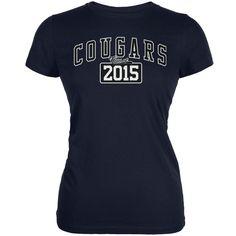 Graduation - Cougars Class of 2015 Navy Juniors Soft T-Shirt