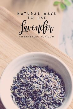 Do you have a love for lavender? Check out these 25 natural fresh and dried lavender uses. Lavender Plant Uses, Lavender Crafts, Lavender Recipes, Dried Lavender Flowers, Lavender Oil, Drying Lavender, Rose Flowers, Lavender Fields, Healing Herbs