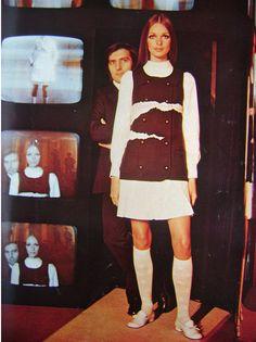 Emanuel Ungaro and model, 1969