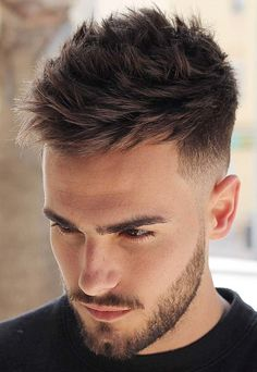 Messy Textured Undercut - If you like casual hairstyles with a lot of texture, this undercut may be for you. Best for guys with thicker hair, this style features a windswept look that's fun and carefree. Undercut Hairstyles, Boy Hairstyles, Casual Hairstyles, Undercut Men, Undercut Short Hair, Choppy Hair, Hairstyle Ideas, Cool Hairstyles For Men, Haircuts For Men