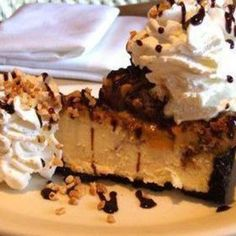 Cheesecake Factory Snickers Cheesecake Most Addictive