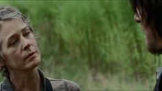"The Walking Dead 5x10 ""Them"" Carol comforting Daryl"