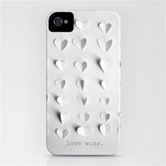 "To know more about Marianne LoMonaco ""love wins."" iPhone case by , visit Sumally, a social network that gathers together all the wanted things in the world! Featuring over 1 other Marianne LoMonaco items too! Cable Iphone, Iphone 6, Cool Iphone Cases, Cool Cases, Cover Iphone, Ipod Covers, Win Phone, Gadgets, Shopping"