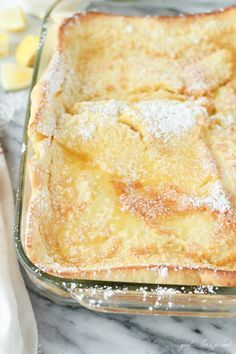 German Oven Pancakes have all the flavor and buttery goodness of a fancy weekend breakfast, but with just 5 minutes of prep work, they're perfect any day!