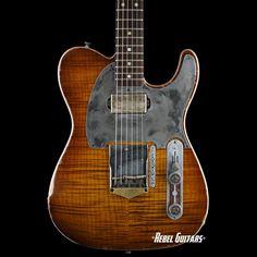 Scala Guitars Artisan Deluxe T-Rod Contour in Honey Burst Telecaster Guitar, Fender Guitars, Guitar Inlay, Pickup Covers, Cool Electric Guitars, Guitars For Sale, Guitar Building, Custom Guitars, Guitar Design