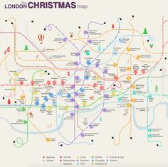 Click hereto see the map bigger Want to know what festive merriment is happening in London but can't tear your eyes away from the latest quirky t