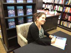 The Lovely Carol Rifka Brunt signing her fantastic book 'Tell The Wolves I'm Home'. 25/07/12
