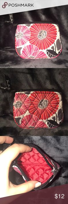 Cherry Blossom Vera Bradley Coin Purse This pattern - Cherry Blossom Coin Purse / money holder / card holder / I.d holder Smoke Free Home Vera Bradley Bags Wallets
