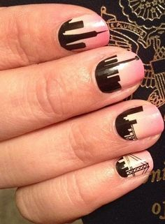 Jamberry Nail Wraps - Night Life   Order yours here today: http://lalam.jamberrynails.net/
