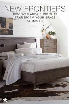 One easy way to refresh your space is to swap out or add an area rug. Go to macys.com now to shop for one that fits your style!