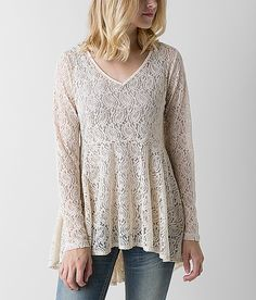 H.I.P. Lace Top - Women's Tops | Buckle